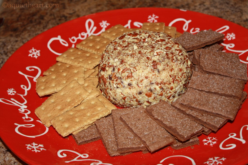 Chocolate Chip Cheese Ball | A Quiet Heart