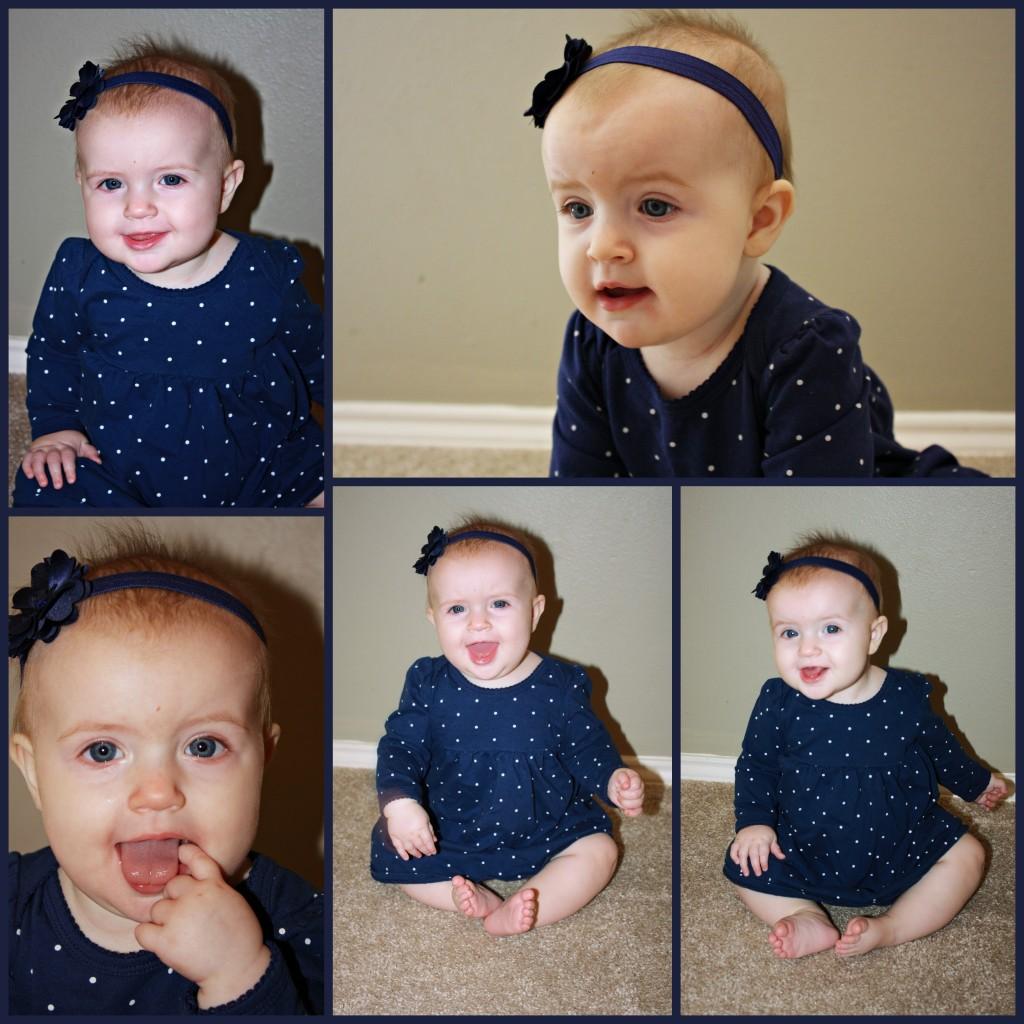 Rachel Susannah - 7 months old