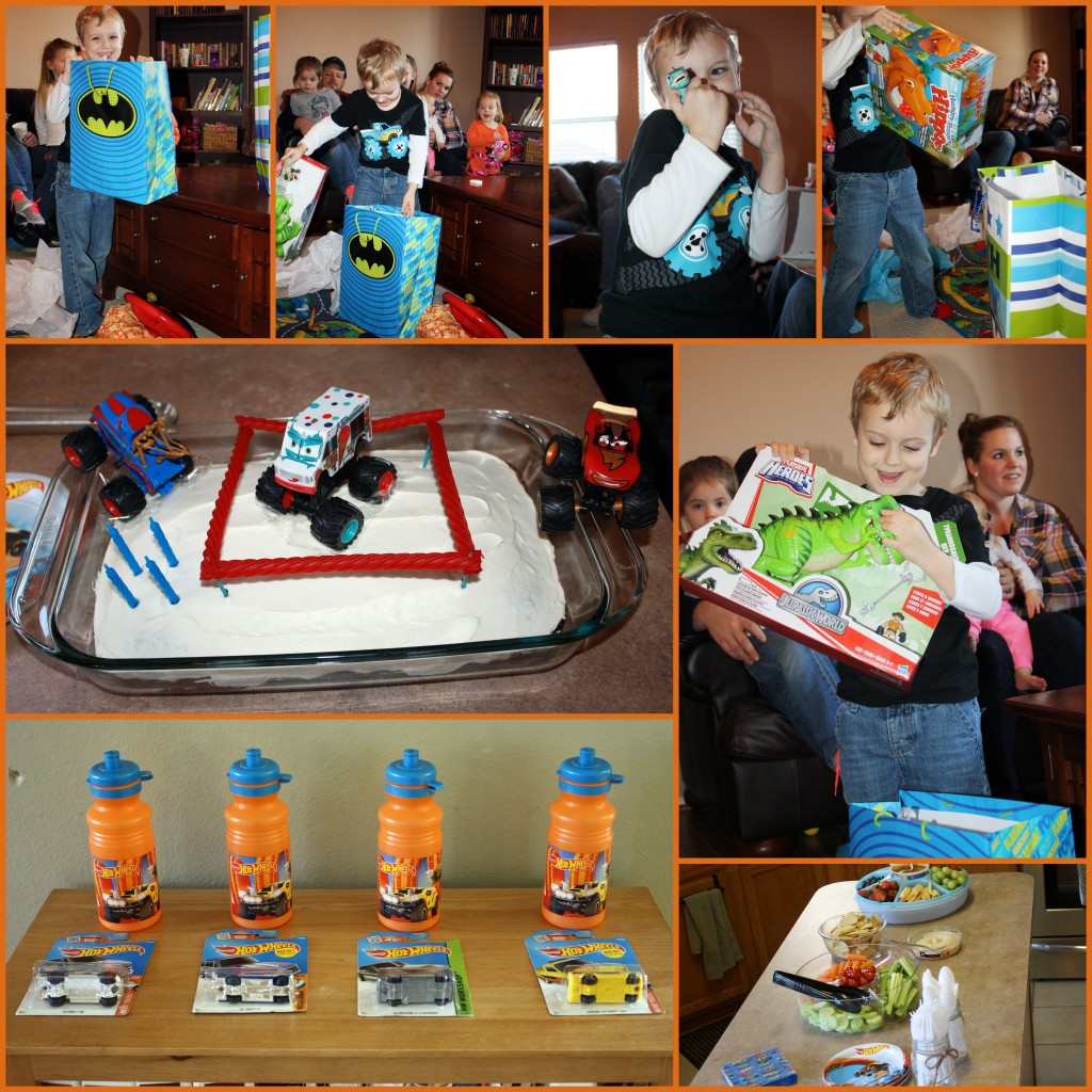 Titus' Monster Truck Birthday