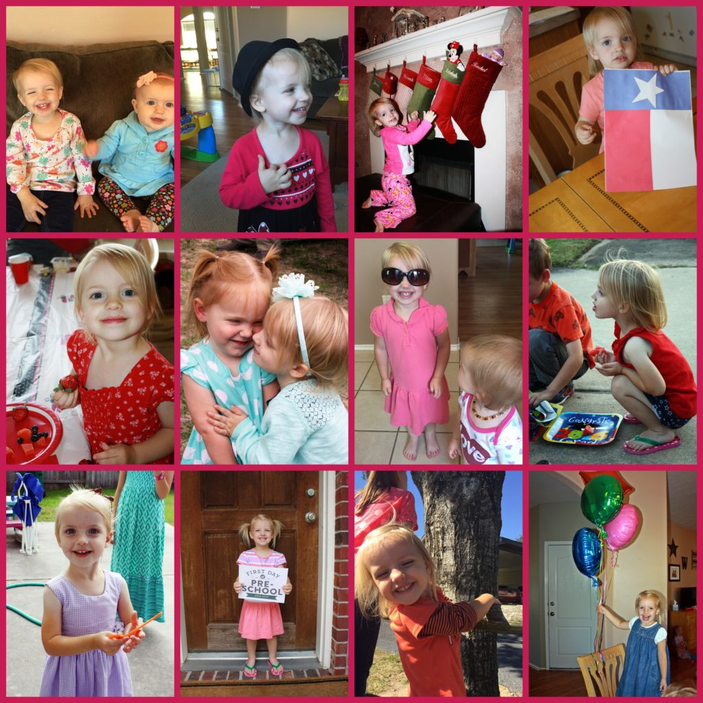 Happy 3rd Birthday, Rebekah!